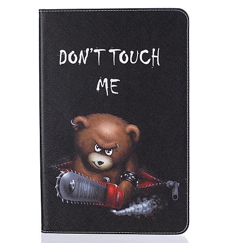 Кейс для Назначение SSamsung Galaxy Tab A 10.1 (2016) Бумажник для карт Кошелек со стендом С узором Авто Режим сна / Пробуждение Чехол держатели в авто lola держатель для телефона в авто