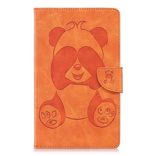Кейс для Назначение Amazon Kindle Fire 7(5th Generation, 2015 Release) Бумажник для карт Кошелек со стендом С узором Чехол Панда Твердый детская футболка классическая унисекс printio король панда