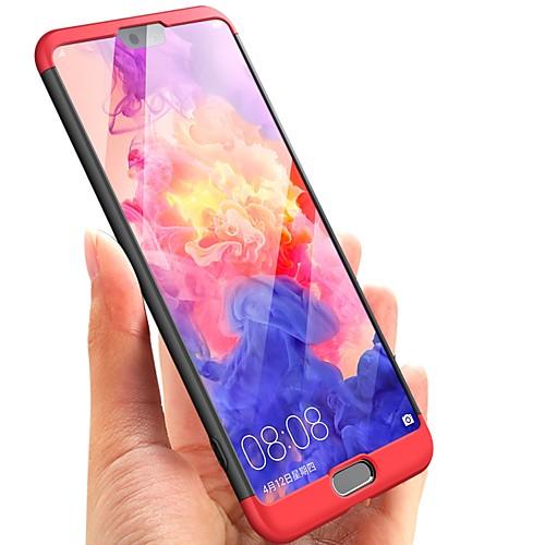 Кейс для Назначение Huawei P20 lite P20 Ультратонкий Чехол Однотонный Твердый ПК для Huawei P20 lite Huawei P20 Pro Huawei P20 P10 Plus