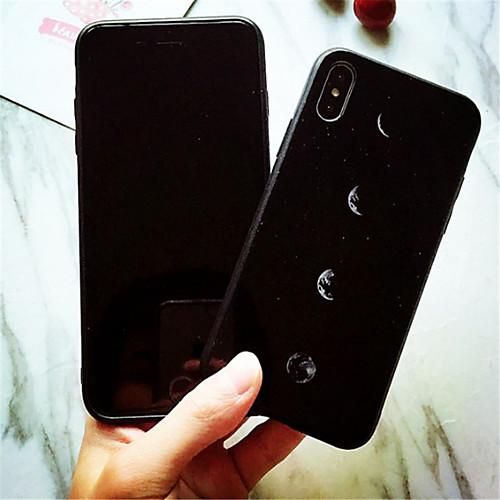Кейс для Назначение Apple iPhone X iPhone 7 Plus С узором Кейс на заднюю панель Пейзаж Твердый Закаленное стекло для iPhone X iPhone 8 защитное закаленное стекло esr для iphone 8 plus 7 plus 6 plus 6s plus