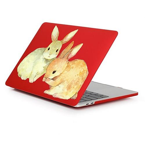MacBook Кейс Романтика / Кролик пластик для Новый MacBook Pro 15 / Новый MacBook Pro 13 / MacBook Pro, 15 дюймов