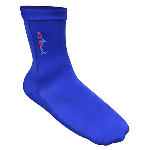Bluedive Носки для плавания 1mm Неопрен для Взрослые - Быстровысыхающий, Дышащий, Мощность Плавание / Дайвинг / Серфинг / Для погружения с трубкой / Мягкость