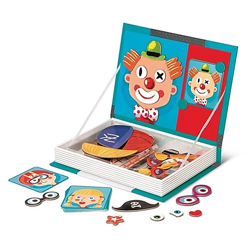 MINGYUAN 8726-3 3D пазлы клоун Милый / Взаимодействие родителей и детей Детские Все Подарок