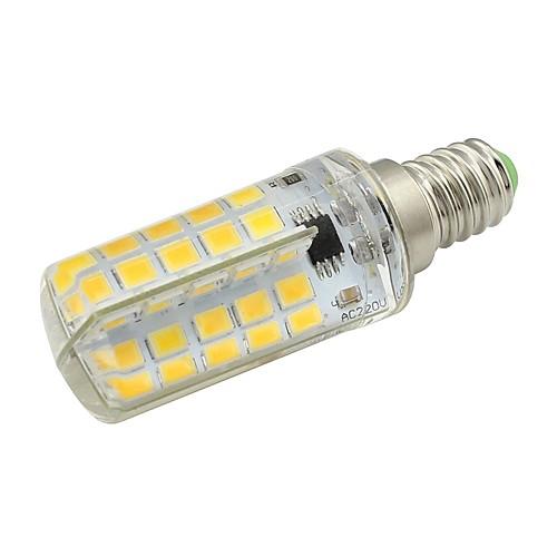 1шт 5W 450lm E14 LED лампы типа Корн T 80 Светодиодные бусины SMD 5730 Тёплый белый / Холодный белый 220-240V