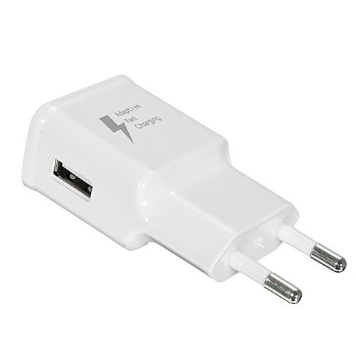 Портативное зарядное устройство Зарядное устройство USB Стандарт США / Евро стандарт 1 USB порт 2 A 110~220 V для стандарт сша