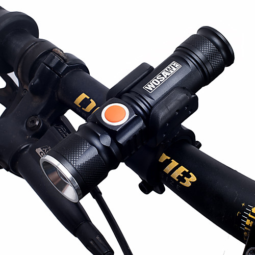 Светодиодные фонари / Передняя фара для велосипеда / Фары для велосипеда Двойной LED Велоспорт Портативные, Регулируется, Быстросъемный 18650 1000 lm Перезаряжаемая / 18650 Белый