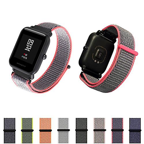 Ремешок для часов для Huami Amazfit Bip Younth Watch Xiaomi Современная застежка Нейлон Повязка на запястье