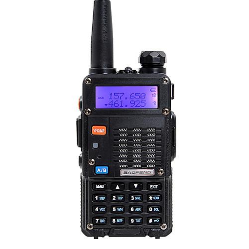BAOFENG Радиотелефон Для ношения в руке Двойной диапазон 5 - 10 км 5 - 10 км Walkie Talkie Двухстороннее радио радиотелефон