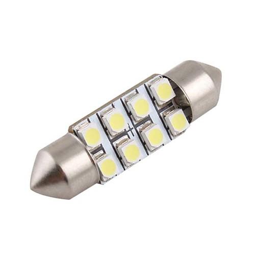 1 шт. Автомобиль Лампы 1.2W Светодиодная лампа Внутреннее освещение For Универсальный Дженерал Моторс Все года цена