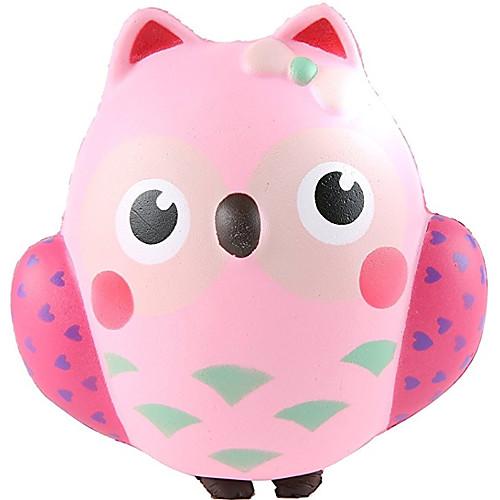 Резиновые игрушки / Устройства для снятия стресса Сова Товары для офиса / Декомпрессионные игрушки Others 1pcs Детские Все Подарок подарок девочке на 7 лет