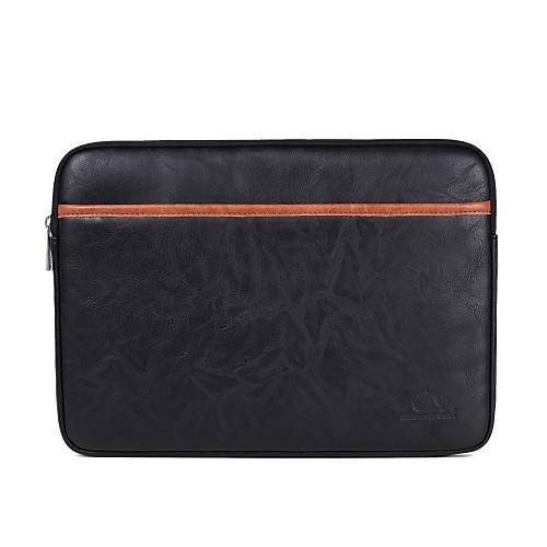 Кожа PU Однотонный Рукава 15 Ноутбук / 14-дюймовый ноутбук / 13 Ноутбук ноутбук