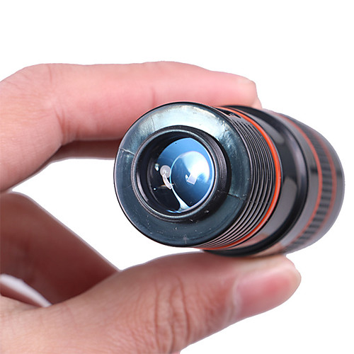 8X18mm Монокль Портативные BAK4 Многослойное покрытие 250/1000m Пешеходный туризм / Походы / Путешествия Пластиковый корпус