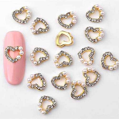 10 pcs Стиль Украшения для ногтей Дизайн ногтей / Формы для ногтей