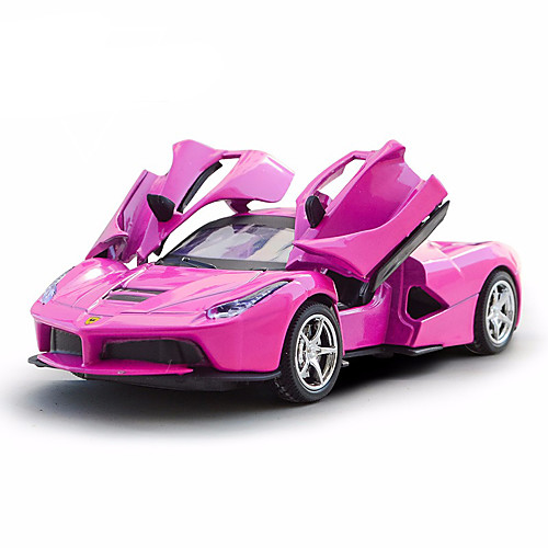 Игрушечные машинки Гоночная машинка Автомобиль Металлический сплав Все Детские / Взрослые Подарок 1pcs машинки toystate машинка toystate