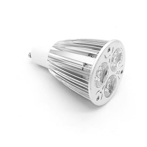 800-900lm GU10 Точечное LED освещение MR16 3 Светодиодные бусины Высокомощный LED Тёплый белый 85-265V цена