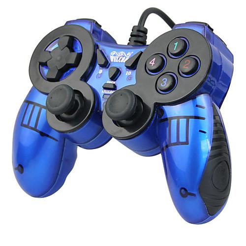 WE-816 Проводное Игровые контроллеры Назначение ПК , Вибрация Игровые контроллеры ABS 1 pcs Ед. изм контроллеры таймеры блоки управления