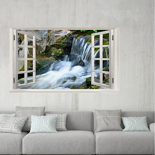 Декоративные наклейки на стены / Наклейки на холодильник - 3D наклейки Пейзаж / 3D На открытом воздухе / Офис