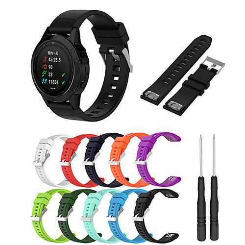 Ремешок для часов для Fenix 5x / Fenix 3 HR / Fenix 3 Garmin Современная застежка силиконовый Повязка на запястье fenix 21 mianmo