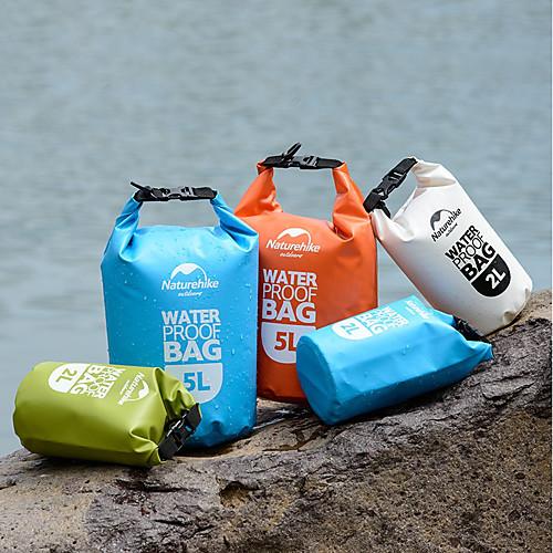 Naturehike 5L Защитная сумка / Водонепроницаемый сухой мешок Легкие, Плавающий, Компактность для Серфинг / Дайвинг / Плавание