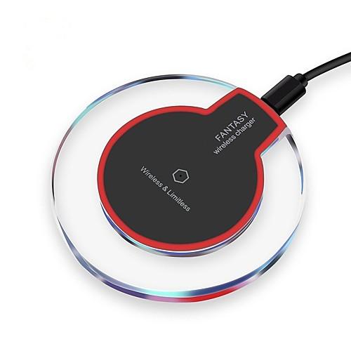 Фото Беспроводное зарядное устройство Зарядное устройство USB Универсальный с кабелем / Беспроводное зарядное устройство / Qi Не поддерживается зарядное устройство soalr 16800mah usb ipad iphone samsug usb dc 5v computure