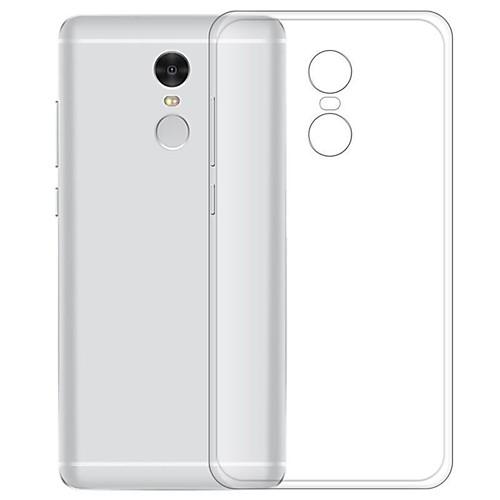 Кейс для Назначение Xiaomi Redmi Note 4X Прозрачный Кейс на заднюю панель Однотонный Мягкий ТПУ для Xiaomi Redmi Note 4X кейс для светового оборудования thon case 4x led par64 short