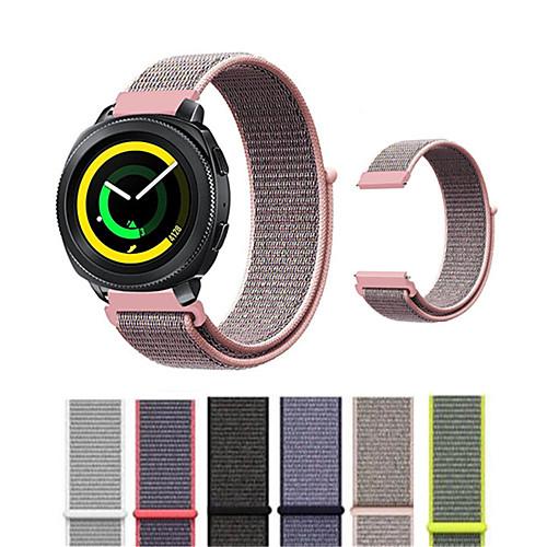 Ремешок для часов для Gear Sport / Gear S2 Classic Samsung Galaxy Современная застежка Нейлон Повязка на запястье