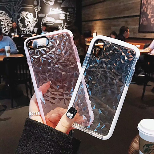 Case For Apple iPhone X / iPhone 8 Plus / iPhone 8 Shockproof Full Body Cases Solid Colored Soft TPU