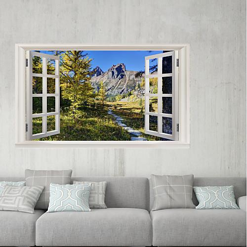 Декоративные наклейки на стены / Наклейки на холодильник - 3D наклейки Пейзаж / Натюрморт В помещении / На открытом воздухе