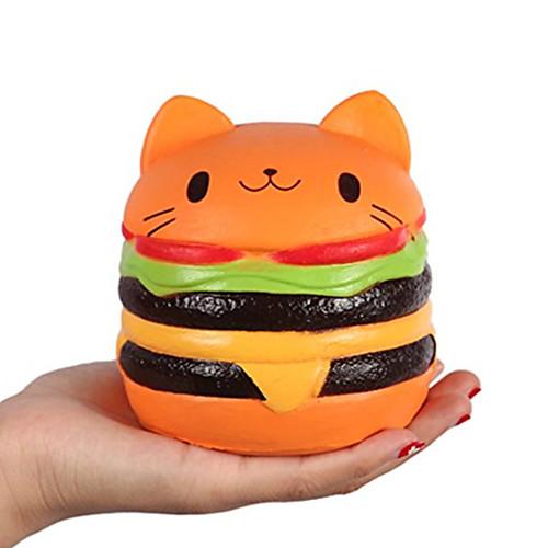 LT.Squishies Резиновые игрушки / Устройства для снятия стресса Кошка Фокусная игрушка / Декомпрессионные игрушки Others 1pcs Детские Все