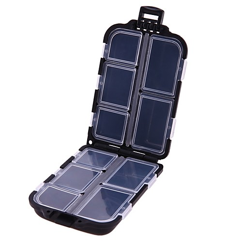 Коробки для рыболовных снастей Коробка для рыболовной снасти Общий пластик 6 см3cm
