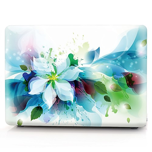 MacBook Кейс Цветы пластик для Новый MacBook Pro 15 / Новый MacBook Pro 13 / MacBook Pro, 15 дюймов 5 pa for apple ipad pro surface pro 3 4 sleeves bags macbook pro air 11 12 13 14 15 inch suit pants grey style laptop sleeve