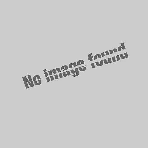 Муж. Вышивка Большие размеры - Polo Хлопок, Рубашечный воротник Классический Однотонный / Животное Желтый XL / С короткими рукавами