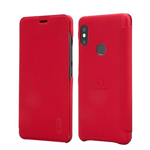 Кейс для Назначение Xiaomi Redmi Note 5 Pro Xiaomi Mi Mix 2S Бумажник для карт Флип Матовое Чехол Однотонный Твердый Кожа PU для Xiaomi чехлы для телефонов with love moscow силиконовый дизайнерский чехол для xiaomi redmi note 2 помада