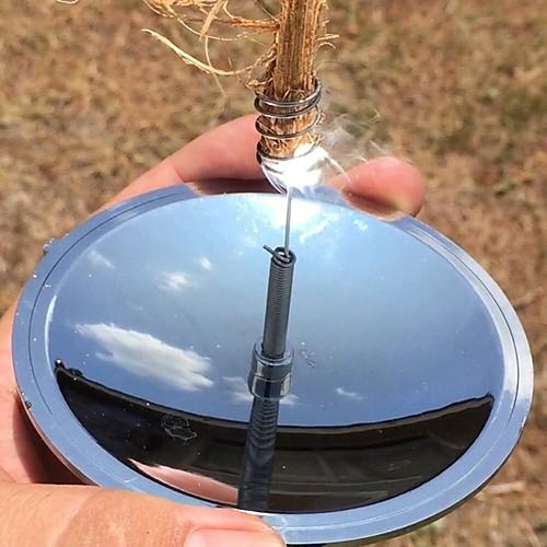 Fire Starter Походы / туризм / спелеология Работает от солнечной энергии Aluminum Alloy / пластик 1pcs