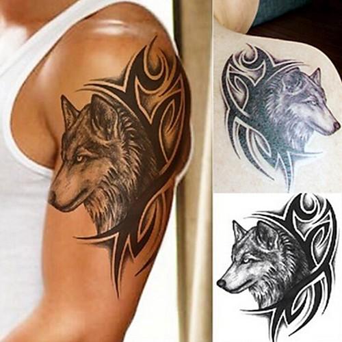 5pcs Стикер Тату с животными / Тату с тотемом Временные тату тату рукава в владимире
