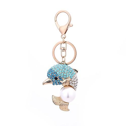 Дельфин Брелок Пурпурный / Светло-синий Сплав На каждый день, Мода Назначение Подарок / Повседневные