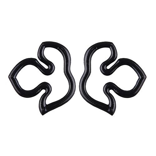 Жен. Серьги-кольца - Простой / корейский / европейский Белый / Черный / Пурпурный нерегулярный Серьги Назначение Повседневные / Для улицы
