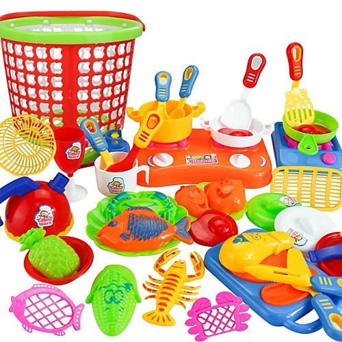 Ролевые игры Главная Кухня инструмент / Взаимодействие родителей и детей Детские / дошкольный Подарок 35pcs