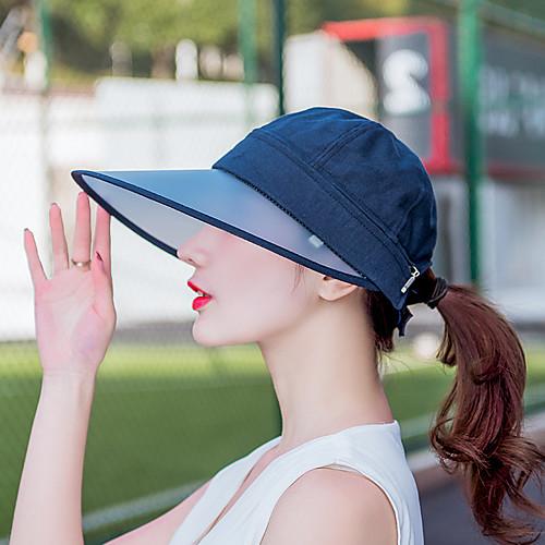 Кепка Лето Защита от солнца / Съемный / Молния YKK Пешеходный туризм / На открытом воздухе / Путешествия Жен. Холщовая ткань Классика