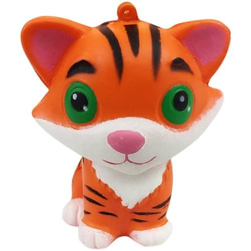 Резиновые игрушки / Устройства для снятия стресса Tiger Стресс и тревога помощи / Декомпрессионные игрушки Others 1pcs Детские Все Подарок