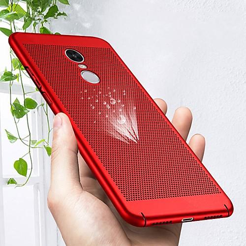 Кейс для Назначение Xiaomi Redmi Note 4X / Redmi Note 4 Ультратонкий Кейс на заднюю панель Однотонный Твердый ПК для Xiaomi Redmi Note 4X xiaomi redmi note5a 4гб 64гб китайская версия
