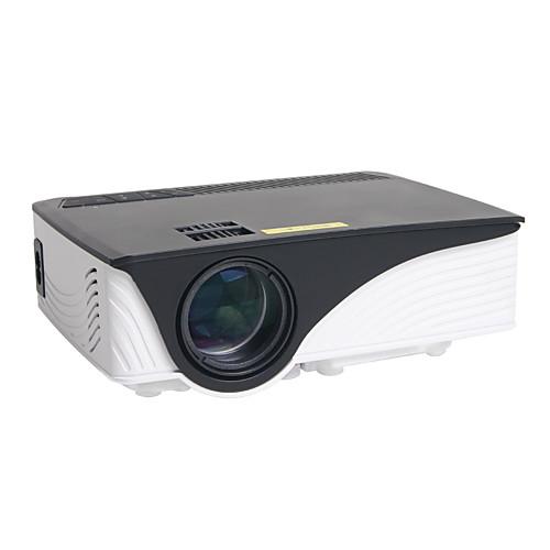 HTP GP-12 ЖК экран Мини-проектор Светодиодная лампа Проектор 800 lm Поддержка 1080P (1920x1080) 30-120 дюймовый Экран / WVGA (800x480)