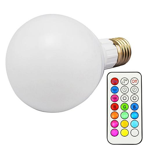 1шт 10W 800lm E26 / E27 Умная LED лампа G80 18 Светодиодные бусины SMD 5730 Диммируемая Декоративная На пульте управления RGBWW RGBW игрушечные машинки на пульте управления по грязи купить