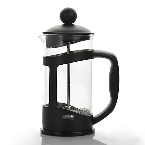 Походный чайник для кофе Чайник для кофе Легкие стекло / Нержавеющая сталь / PP На открытом воздухе для Пешеходный туризм / Походы /
