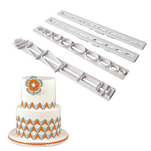 Инструменты для выпечки пластик Своими руками / Творческая кухня Гаджет конфеты / Для торта / Шоколад Формы для пирожных мебель своими руками cd с видеокурсом