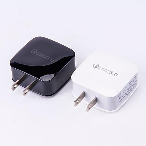 Док-зарядное устройство Телефон USB-зарядное устройство Стандарт США USB QC 3.0 1 USB порт 3A DC 9V DC 12V DC 5V сетевой адаптер dc 9v новосибирск