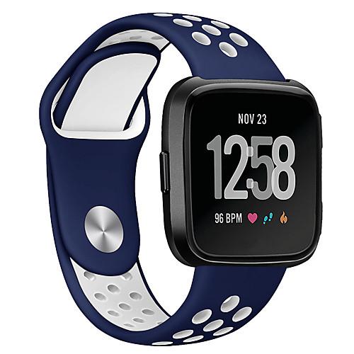 Ремешок для часов для Fitbit Versa Fitbit Спортивный ремешок силиконовый Повязка на запястье