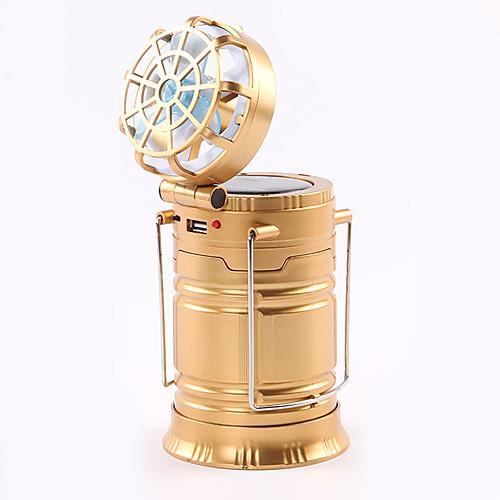 WEIDE With Ceiling Fan Походные светильники и лампы / Аварийные лампы Светодиодная лампа Портативные / Складной / Водонепроницаемый