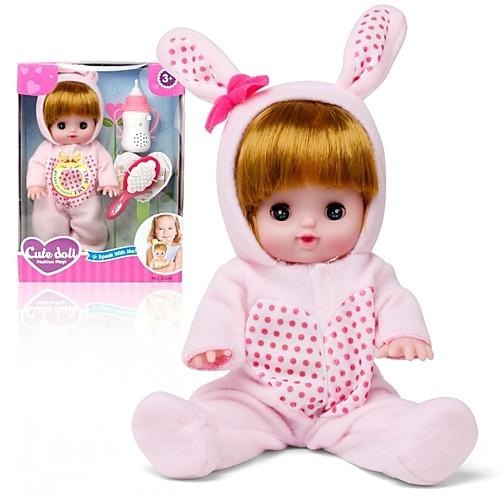 Интерактивная кукла Девочки 12 дюймовый Силикон - как живой Экологичные Подарок Очаровательный Безопасно для детей Non Toxic Детские Девочки Игрушки Подарок