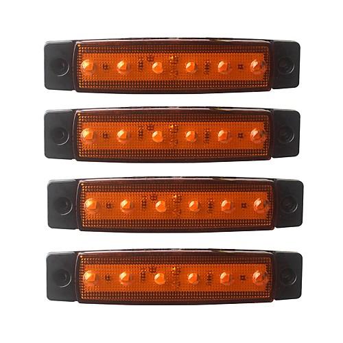 ZIQIAO 4шт Автомобиль Лампы 1.5W SMD LED 120lm 6 Внешние осветительные приборы For Универсальный Универсальный Все года цена